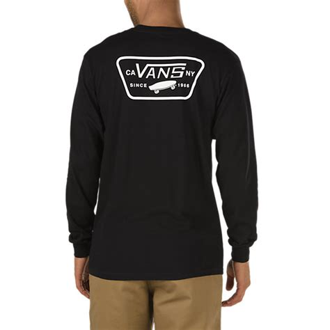Longsleeve With Patch patch back sleeve t shirt shop at vans
