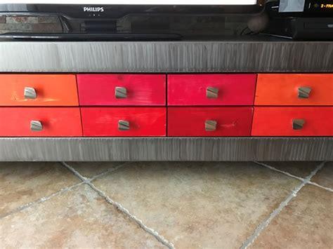 Banc Tv Metal by Banc M 233 Tal Design Tiroir Banc Design Banc M 233 Tal