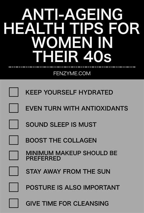pictures and fashion tips for women in their late fourties 9 anti ageing health tips for women in their 40s