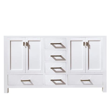 72 inch cabinet avanity modero 72 inch vanity cabinet in white the home