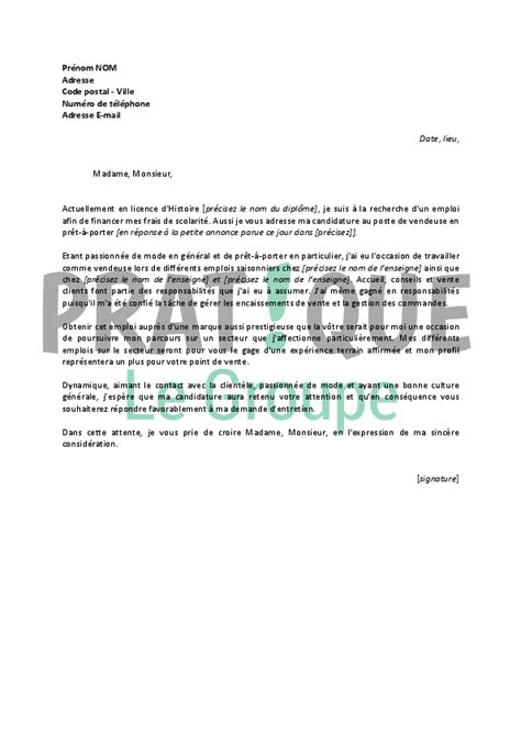 Lettre De Motivation Pour Visa étudiant Mod 195 168 Le De Lettre De Motivation 195 169 Tudiant