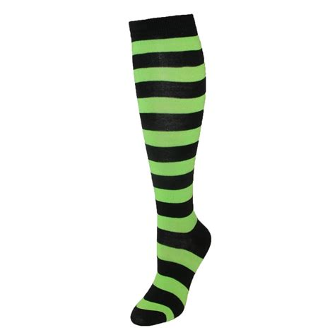 Striped Knee High Socks womens wide striped knee high sock by ctm 174 knee thigh