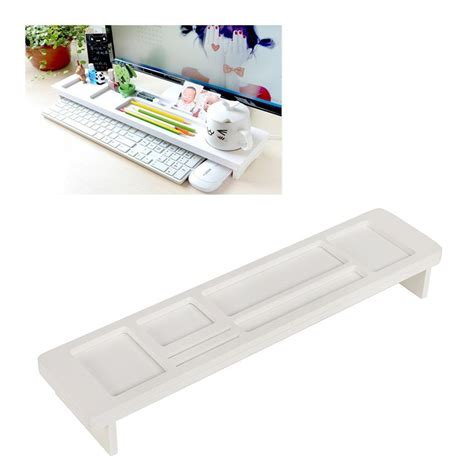 modern multipurpose white wpc desktop