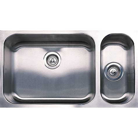 1 1 2 Bowl Kitchen Sink Blanco Spex Plus Undermount Stainless Steel 32 In 1 1 2 Bowl Kitchen Sink 440256 The