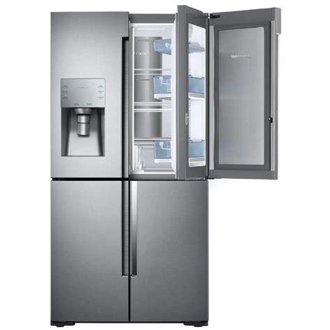 Refrigerator 4 Door by Shop Samsung Flex 27 8 Cu Ft 4 Door Door