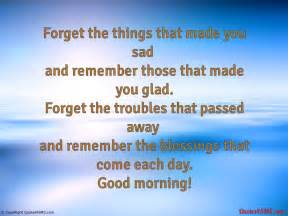 Remember the blessings that come each day good morning quotes4sms