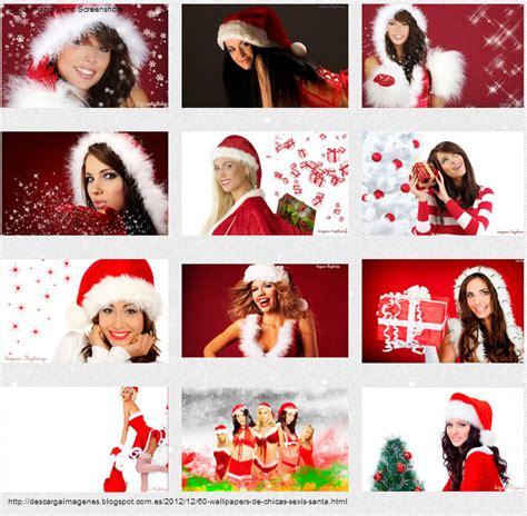 imagenes de santa claus mujer sexi fondo chica con bikini de santa claus feliz navidad