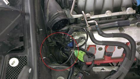 Audi A6 4b Lambdasonde Wechseln by Motor Von Oben Lambdasonde Vorkat Am 3 0l Benziner