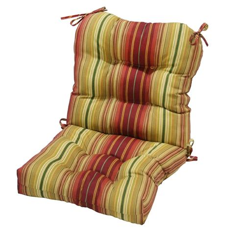 indoor outdoor chair pads greendale home fashions indoor outdoor seat back chair