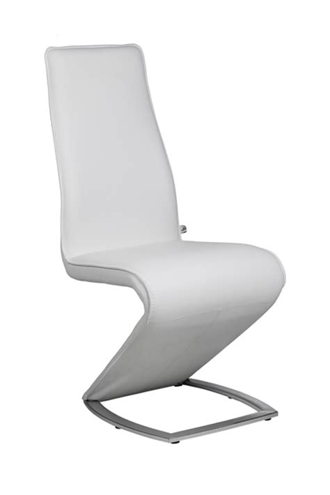 Designer Leather Dining Chairs Z Ii New Edition Designer White Leather Dining Chair Chairs
