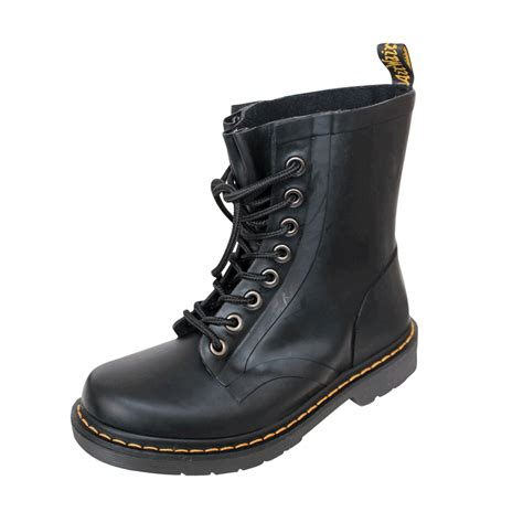 rubber boot keychain dr martens quot drench rubber quot boot black order online