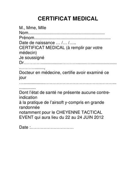 CERTIFICAT MEDICAL par JEROME - Fichier PDF