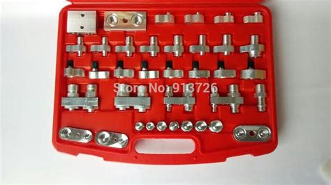 auto ac leak detection fittingadaptor manifold tools