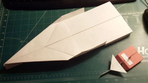 How To Make Paper Hornets - how to make the hornet paper airplane
