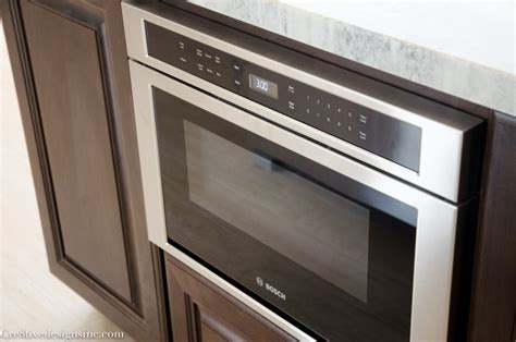Lowes Microwave Drawer by Kitchen Remodel Using Lowes Cabinets Cre8tive Designs Inc