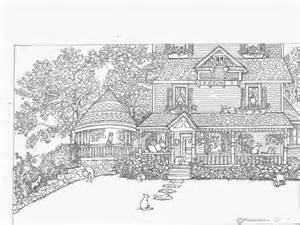 homes for adults cat coloring pages for adults bestofcoloring