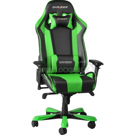Gaming Chair Dxracer by Dxracer King Series Gaming Chair Black Green Oh Kf06 Ne