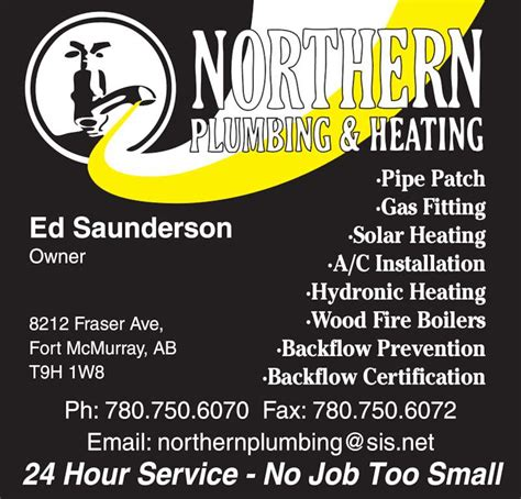 Fort Mac Plumbing by Northern Plumbing Heating Fort Mcmurray Ab 8212