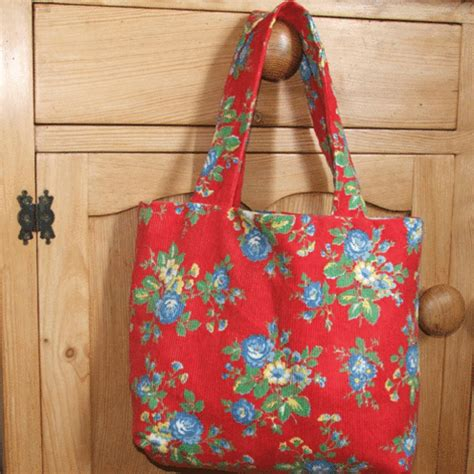 Handmade Fabric Tote Bags - folksy buy quot lovely tote bag in cath kidston fabric