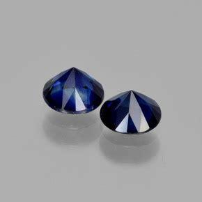 Blue Safir Sapphire 2ct 1 2ct blue sapphire gems from madagascar