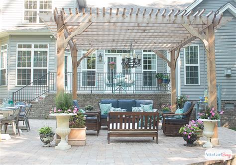 decorate patio patio decorating ideas our new outdoor room atta says