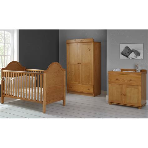 Obaby B Is For Bear Double 3 Piece Nursery Furniture Set 3 Nursery Furniture Sets