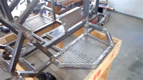 how to build an a frame for a porch swing homemade atv quad build part 9 update youtube