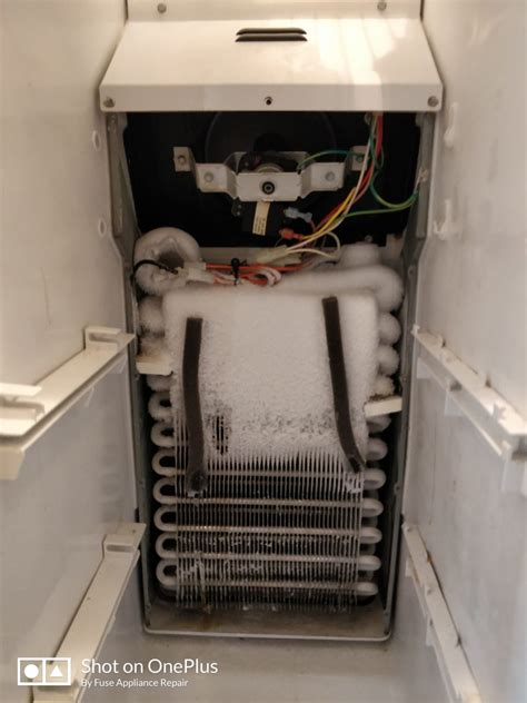 refrigerator fan not working refrigerator amana repair in los altos ca evaporator
