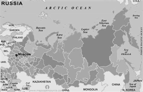 russia map black and white free map of russia map travel holidaymapq