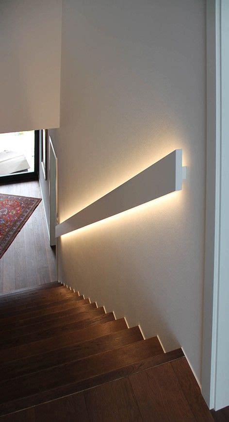 Beleuchtung Im Handlauf die besten 25 treppenhaus ideen auf