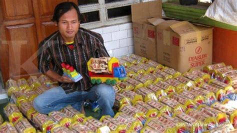 Mainan Anak Gangsing Lu tetap bertahan di tengah gempuran mainan china 3