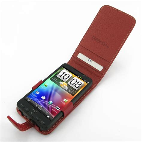themes htc desire hd a9191 htc desire hd a9191 leather flip case red pdair