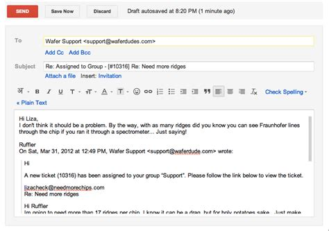 Reply Letter Customer Query Respond To Your Support Tickets Through Email Without Logging In To Your Support Freshdesk