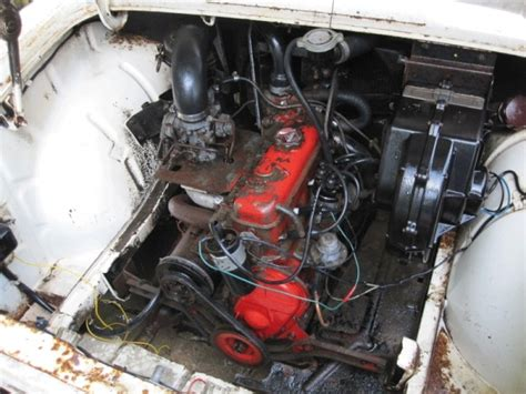 renault caravelle engine french field find 1961 renault caravelle