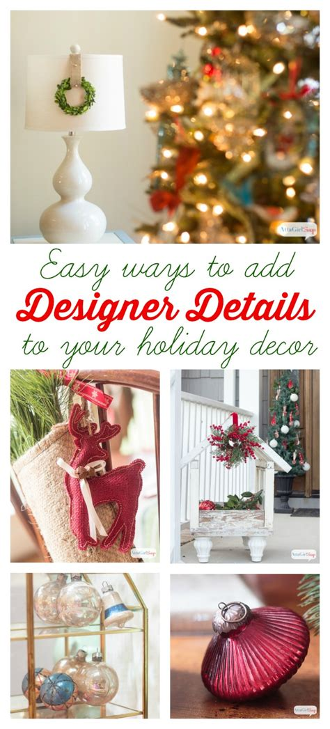 designer christmas decor family christmas tree with