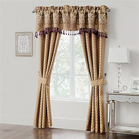 waterford curtains waterford 174 linens carlotta 84 inch window curtain panel