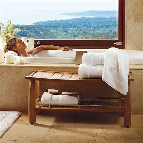 Spa Bench Shower estate size spa teak shower bench furniture