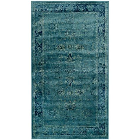 safavieh vintage turquoise multi 5 safavieh vintage turquoise multi 4 ft x 5 ft 7 in area rug vtg117 2220 4 the home depot