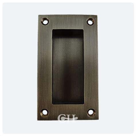 Sliding Door Knobs by 2134 Sliding Door Flush Pulls In Brass Or Bronze Finishes From Cheshire Hardware Door