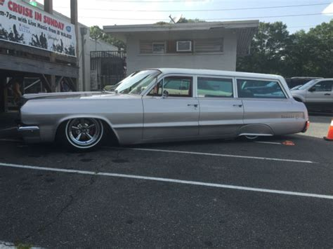 1964 chevrolet impala station wagon bagged lowrider for
