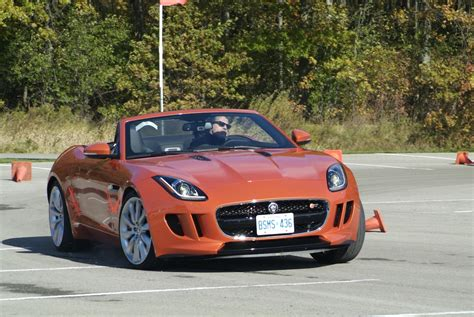 Car Drift Types by The Gallery For Gt Jaguar F Type Orange