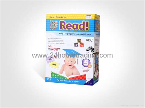 your baby can read 5 dvd cards baby early learning early education dvd set 5dvd 50 cards