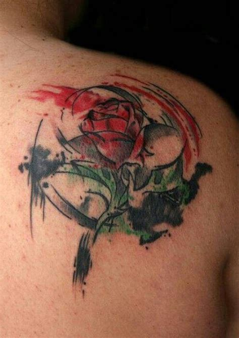 beauty and the beast rose tattoo 55 best tattoos designs best tattoos for