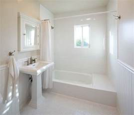 white bathrooms can be interesting fresh design ideas