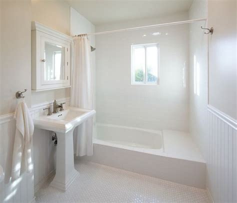 White Bathroom Ideas - white bathrooms can be interesting fresh design ideas