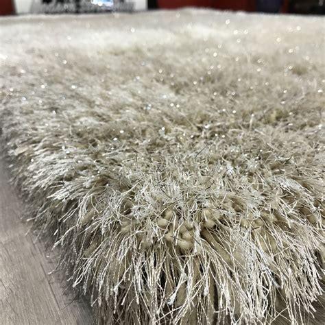 grey shag pile rug sparkle silver grey beige tones 8cm shaggy pile rug 160x230cm ebay