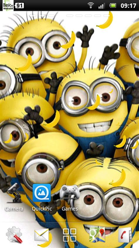wallpaper android minion despicable me wallpaper for android impremedia net