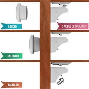 Kitchen Cabinet Magnetic Latches by Magnetic Child Safety Cabinet Locks Latches By