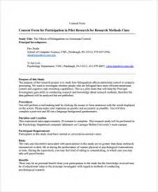 informed consent template for research sle research consent form 8 free documents