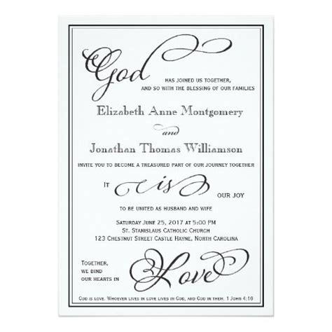 Christian Wedding Card Templates by Simple God Is Christian Wedding Invitation Weddings